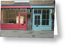 Storefronts For Let Greeting Card