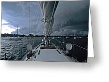 Storm At Put-in-bay Greeting Card