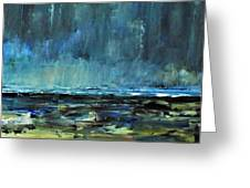 Storm At Sea II Greeting Card