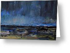Storm At Sea IIi Greeting Card