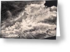 Storm Clouds 2 Greeting Card by Elizabeth Lane