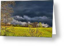 Storm Clouds 2 Greeting Card
