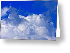 Storm Clouds From Ike Greeting Card