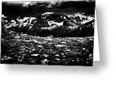 Storm Clouds Gathering In The Rockies Greeting Card