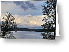 Storm Clouds Over Kentucky Lake Greeting Card