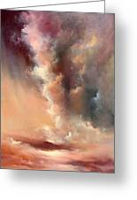 Storm Clouds Rising Greeting Card