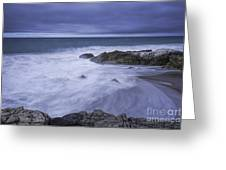Storm Comming In Greeting Card