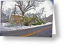 Storm Damage 1  Greeting Card