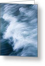 Storm Driven Greeting Card