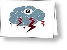 Storm Eye Greeting Card