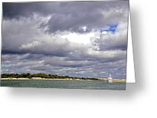 Storm Is Coming Greeting Card