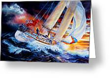 Storm Meister Greeting Card