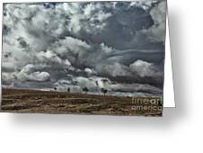 Storm Morocco Greeting Card
