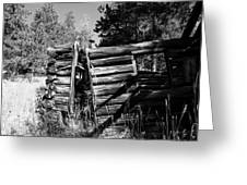 Storm Mountain Homestead Greeting Card