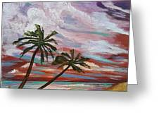 Storm Of Contrast Greeting Card