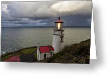 Storm Offshore Greeting Card