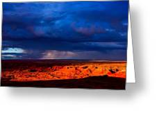 Storm On The Way Greeting Card