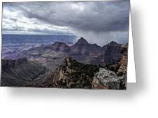 Storm Over Grand Canyon Greeting Card