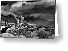 Storm Over Wheeler Crest Greeting Card