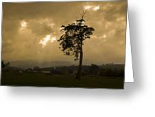 Storm Over Wilmot Greeting Card