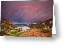 Storm Skies Over Echo Greeting Card