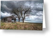 Storm Sky Barn Greeting Card