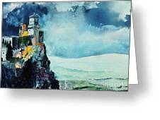 Storm The Castle Greeting Card