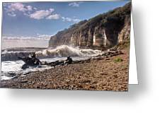 Storm Tide Cliffs End Greeting Card