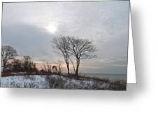 Storm Trilogy--three Harkness Memorial State Park Greeting Card