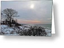 Storm Trilogy-one Harkness Memorial State Park Greeting Card