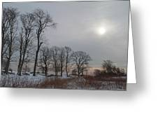 Storm Trilogy-two Harkness Memorial State Park Greeting Card