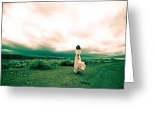 Storm Walk - Split Tone Greeting Card