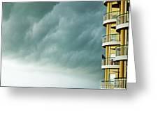 Storm Watchers At Perdido Key Fl Greeting Card