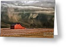 Storm's Coming Greeting Card