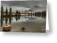 Storms Over Talbot Lake Greeting Card