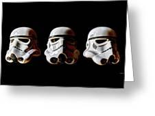 Stormtrooper 1-3 Greeting Card