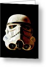 Stormtrooper 1 Weathered Greeting Card