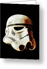 Stormtrooper 2 Weathered Greeting Card