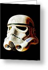 Stormtrooper 3 Weathered Greeting Card