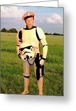 Stormtrooper Barney Fife Greeting Card