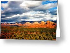 Stormwatch Arizona Greeting Card