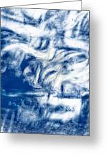 Stormy Abstract Greeting Card