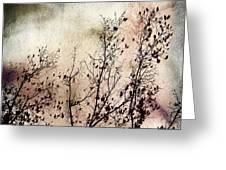 Stormy Autumn - Nature Art Greeting Card