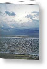 Stormy Beach Beauty Greeting Card