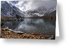 Stormy Convict Lake Greeting Card