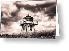 Stormy Day Greeting Card