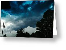 Stormy Days Greeting Card