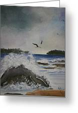 Stormy Inlet Greeting Card