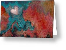 Stormy Love Greeting Card