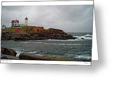 Stormy Nubble Greeting Card